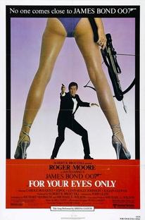 007 - Somente Para Seus Olhos - Poster / Capa / Cartaz - Oficial 1