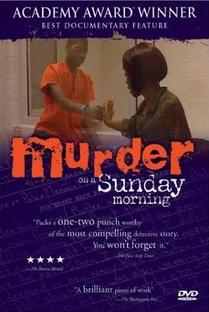 Assassinato Numa Manhã de Domingo - Poster / Capa / Cartaz - Oficial 1