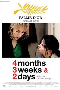 4 Meses, 3 Semanas e 2 Dias - Poster / Capa / Cartaz - Oficial 4