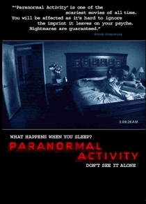 Atividade Paranormal - Poster / Capa / Cartaz - Oficial 5