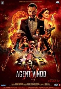 Agent Vinod - Poster / Capa / Cartaz - Oficial 1