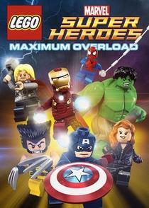 Lego Marvel Super Heroes: Maximum Overload - Poster / Capa / Cartaz - Oficial 1