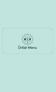 The Unfair Menu - Poster / Capa / Cartaz - Oficial 1