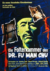 The Castle of Fu Manchu - Poster / Capa / Cartaz - Oficial 1