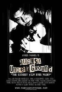 August Underground - Poster / Capa / Cartaz - Oficial 1