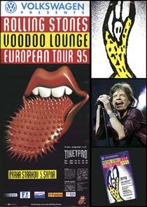 Rolling Stones - Prague 1995 - Poster / Capa / Cartaz - Oficial 1