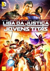 A Liga da Justiça e os Jovens Titãs - Poster / Capa / Cartaz - Oficial 2