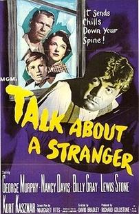 Talk About a Stranger - Poster / Capa / Cartaz - Oficial 1