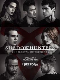 Shadowhunters - Caçadores de Sombras (2ª Temporada) - Poster / Capa / Cartaz - Oficial 1