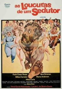 As loucuras de um sedutor - Poster / Capa / Cartaz - Oficial 1