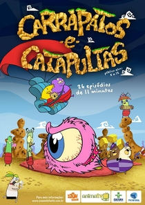 Carrapatos e Catapultas - Poster / Capa / Cartaz - Oficial 1
