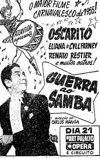 Guerra ao Samba - Poster / Capa / Cartaz - Oficial 2