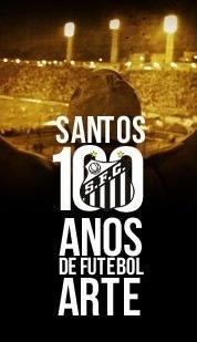Santos, 100 anos de Futebol Arte - Poster / Capa / Cartaz - Oficial 3