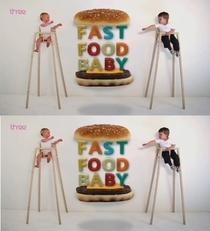 Bebês Fast Food  - Poster / Capa / Cartaz - Oficial 1