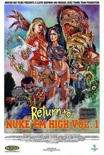 Return to Nuke 'Em High - Poster / Capa / Cartaz - Oficial 3