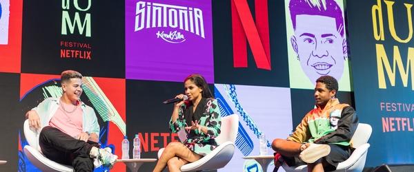 Modo Avião e Sintonia surpreendem fãs no TUDUM Festival Netflix