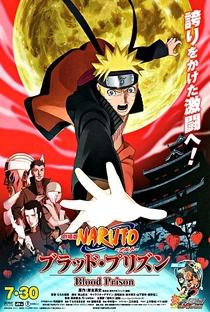 Naruto Shippuden 5: A Prisão de Sangue - Poster / Capa / Cartaz - Oficial 3