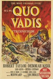 Quo Vadis? - Poster / Capa / Cartaz - Oficial 1
