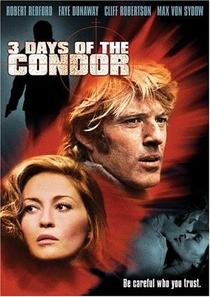 Três Dias do Condor - Poster / Capa / Cartaz - Oficial 1