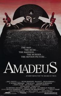 Amadeus - Poster / Capa / Cartaz - Oficial 1