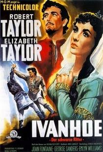 Ivanhoé, o Vingador do Rei - Poster / Capa / Cartaz - Oficial 4