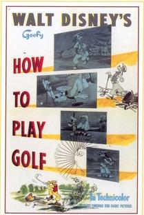 Como Jogar Golfe - Poster / Capa / Cartaz - Oficial 1