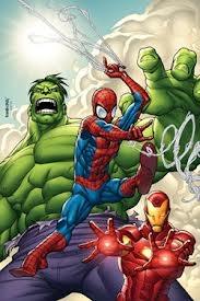 Homem Aranha, Hulk & Homem de Ferro - Poster / Capa / Cartaz - Oficial 1