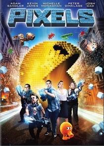 Pixels: O Filme - Poster / Capa / Cartaz - Oficial 11