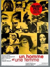 Um Homem, Uma Mulher - Poster / Capa / Cartaz - Oficial 5