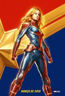 Capitã Marvel - Poster / Capa / Cartaz - Oficial 10