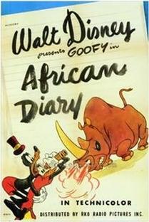African Diary  - Poster / Capa / Cartaz - Oficial 1