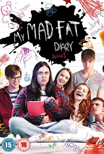My Mad Fat Diary (1ªTemporada) - Poster / Capa / Cartaz - Oficial 4