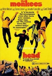 Head - Os Monkees Estão Soltos - Poster / Capa / Cartaz - Oficial 1