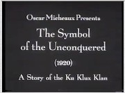 O Símbolo dos Resistentes: Uma História da Ku Klux Klan - Poster / Capa / Cartaz - Oficial 1