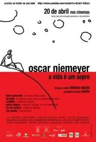 Oscar Niemeyer - A Vida é um Sopro - Poster / Capa / Cartaz - Oficial 1