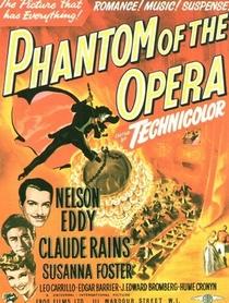 O Fantasma da Ópera - Poster / Capa / Cartaz - Oficial 1