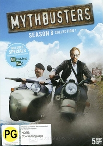Os Caçadores de Mitos (8ª Temporada) - Poster / Capa / Cartaz - Oficial 1