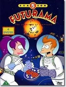 Futurama (5ª Temporada) - Poster / Capa / Cartaz - Oficial 1