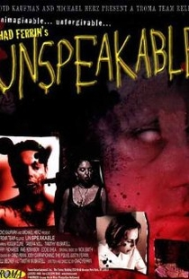 Unspeakable - Poster / Capa / Cartaz - Oficial 1