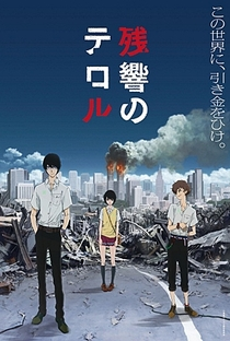 Zankyou no Terror - Poster / Capa / Cartaz - Oficial 1