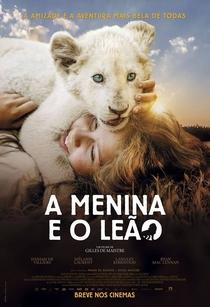 A Menina e o Leão - Poster / Capa / Cartaz - Oficial 5