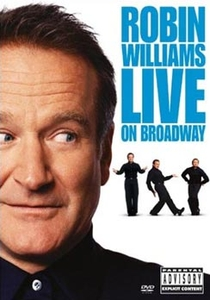 Stand up comedy: Robin Williams live on Broadway - Poster / Capa / Cartaz - Oficial 1