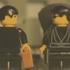 Matrix: cena do tiroteiro no saguão refeita em LEGO