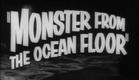 Monster from the Ocean Floor (1954) trailer