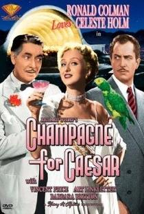 Champanhe para César - Poster / Capa / Cartaz - Oficial 1