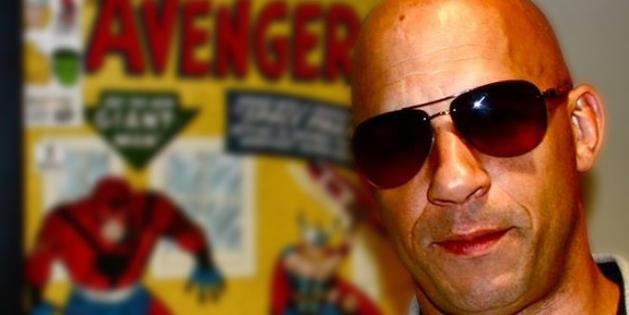"""Vin Diesel se reúne com a Marvel, e nos dá pistas sobre seu papel em """"Os Vingadores 2″"""