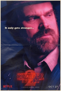 Stranger Things (2ª Temporada) - Poster / Capa / Cartaz - Oficial 16