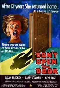 Don't Open the Door! - Poster / Capa / Cartaz - Oficial 1
