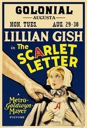 A Letra Escarlate - Poster / Capa / Cartaz - Oficial 1