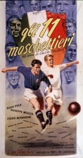 Gli 11 Moschettieri  - Poster / Capa / Cartaz - Oficial 1